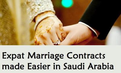Expat Marriage Contracts made Easier in Saudi Arabia-Saudiexpatriate.com