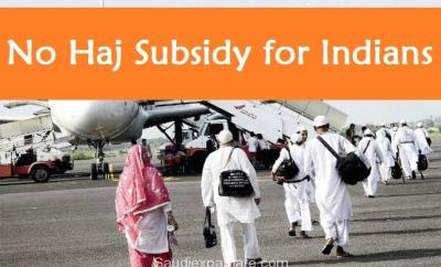No Hajj Subsidy for Indians Muslims-SaudiExpatriate.com