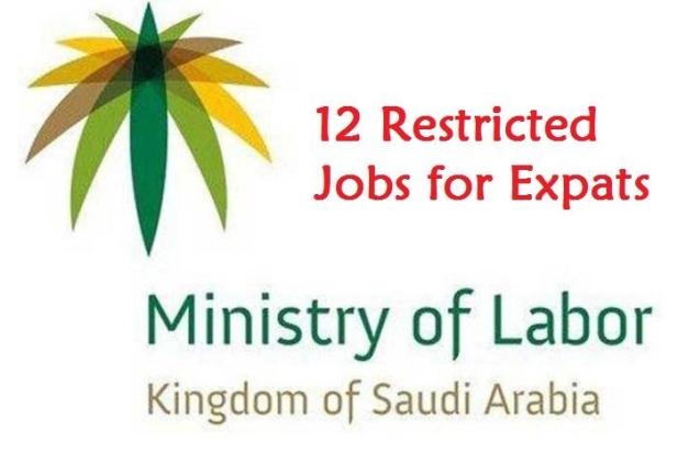 12 Jobs where Expatriates are restricted to work in Saudi-SaudiExpatriate.com