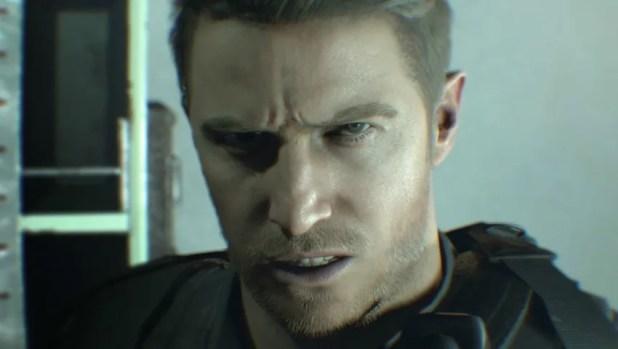 Chris Redfield Resident Evil 7
