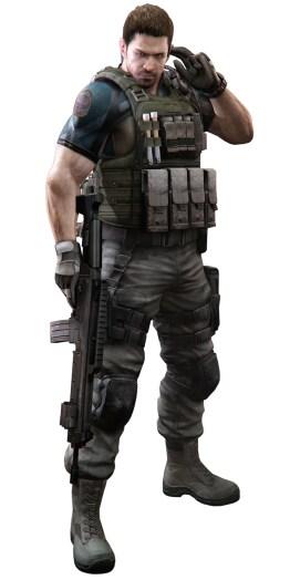 Chris Redfield في Resident Evil 6