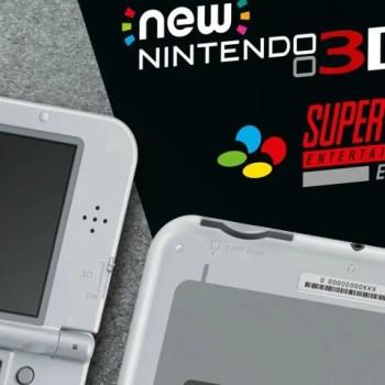 SNES Edition New Nintendo 3DS XL