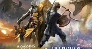 Assassin's Creed Origins و Final Fantasy XV