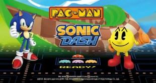 Sonic و Pac-Man