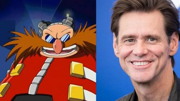 Jim Carrey Sonic the Hedgehog
