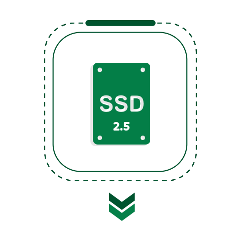 وحدة تخزين SSD
