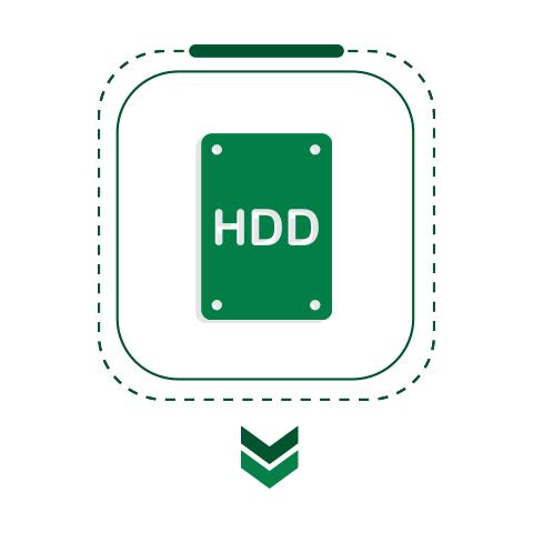 وحدة تخزين HDD
