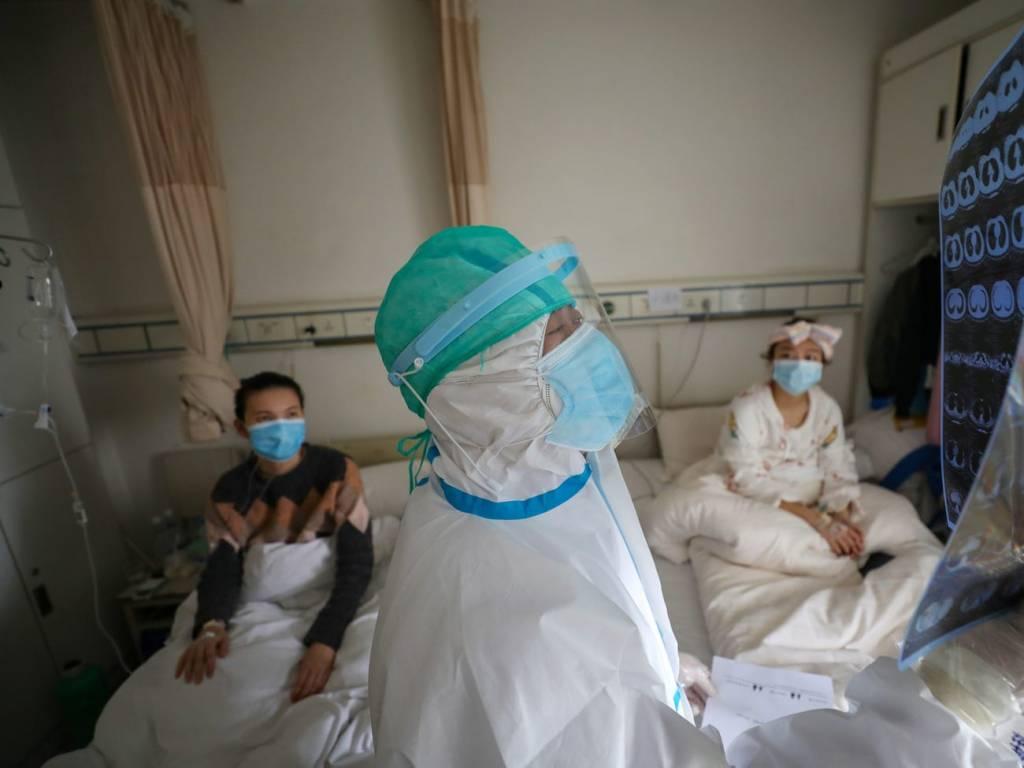 عزل المستشفيات الصينية