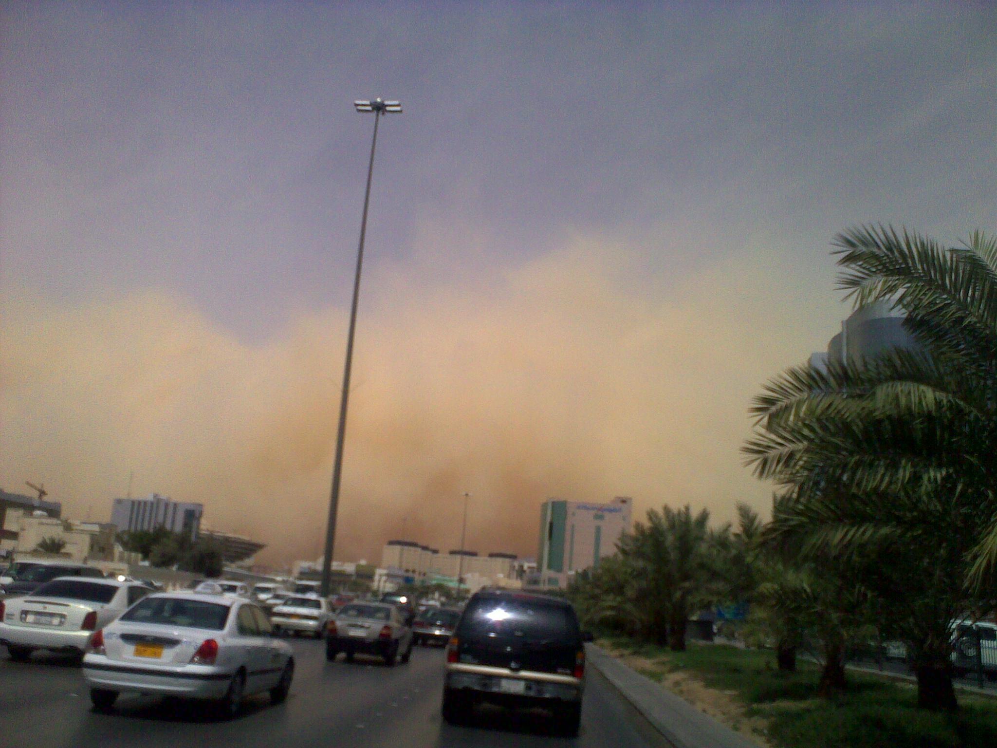 sandstorm coming!