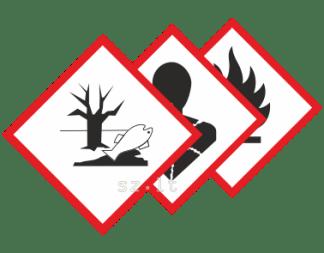 15.1. Pavojingos medžiagos