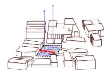 Site Tower Extrusion Diagram