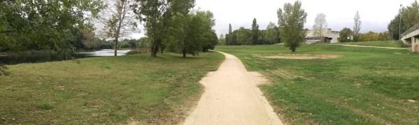 Itinerari Parc Natural Ribes del Ter de Girona - Paviemnt terra estabilitzada SAULO SOLID