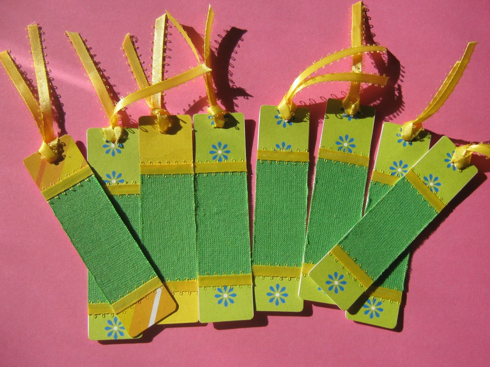 Fabric Bookmarks (1/6)