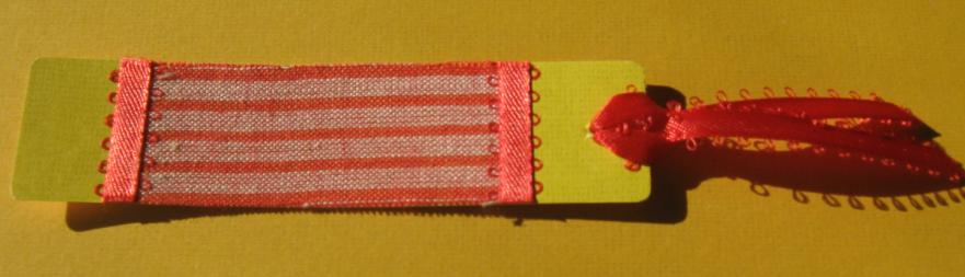 Fabric Bookmarks (5/6)