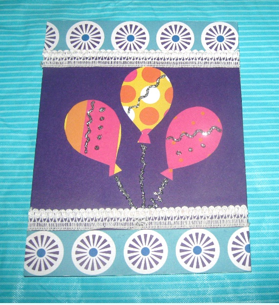 Balloon Cards or Pop up Birthday Cards (3/5)
