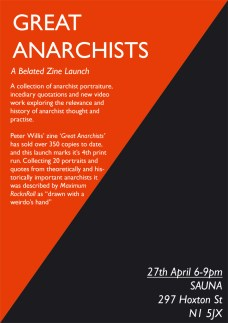 Great Anarchists - Peter Willis
