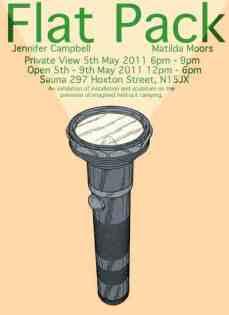 Flat Pack - Jennifer Campbell and Matilda Moors