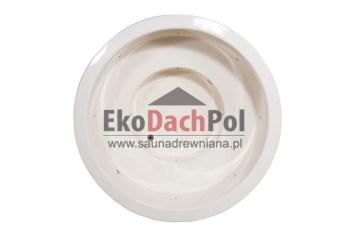 White fiberglass hot tub with external heater_1