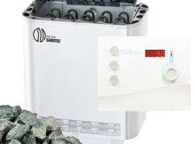 Sawo Nordex Saunaofen 9 kW saunasteine