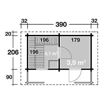 raumaufteilung vorraum sauna sanna