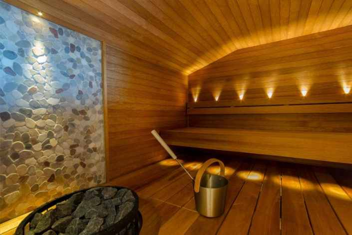 Auriga Business Centerin sauna