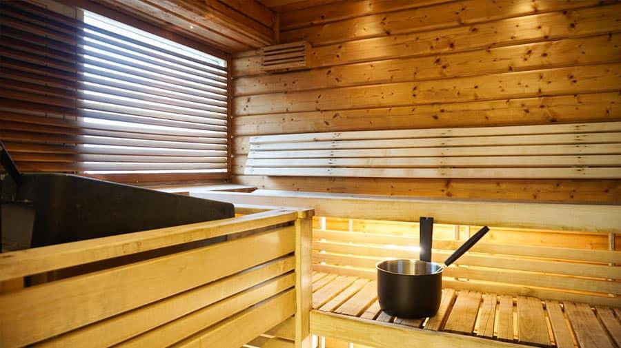 Nuuksion ranta sauna