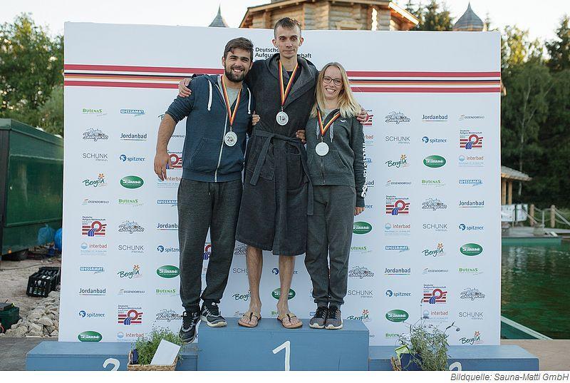 Deutsche Aufguss Meisterschaft 2018 - Sieger Einzelwettbewerb