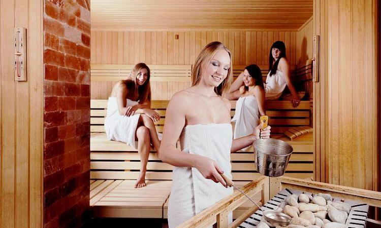 Ohne Steine geht in der Sauna nichts