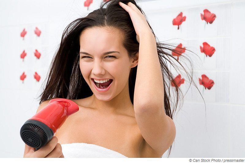 Schadet Saunieren den Haaren?