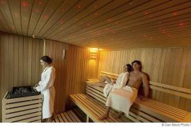 Farblichttherapie in der Sauna