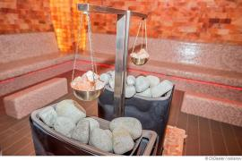 Milde Sauna mit Meeresklima