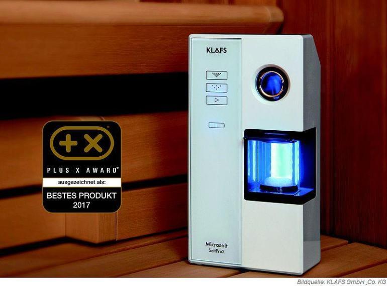 KLAFS Microsalt SaltProX Bestes Produkt des Jahres Plus X Award 2017