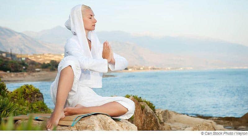 Meditationsmusik und Wellnessmusik in der Sauna