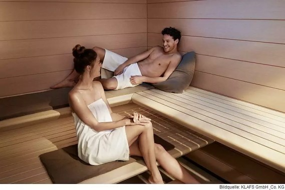 Durch regelmäßige Saunagänge kann die Lebensdauer verlängert werden
