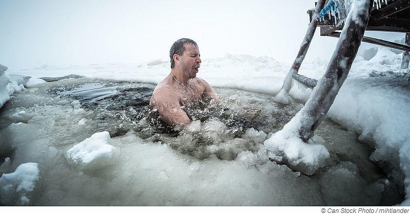 Sauna Eisbaden im Winter - Ist das wirklich gesund?