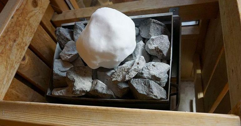 Was ist ein Schneeballaufguss oder Eisaufguss?