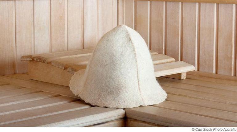 Warum trägt man in der Sauna ein Sauna-Filzhut?