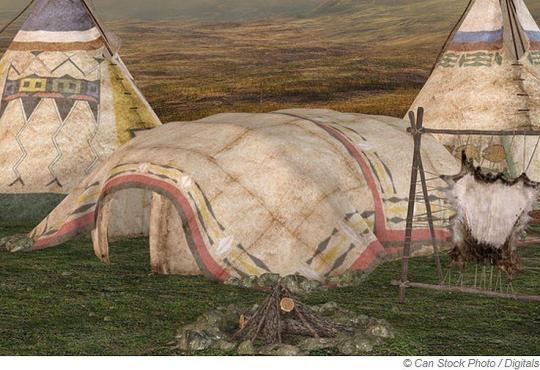 Ein Brauch der Indianer - Sweat Lodge
