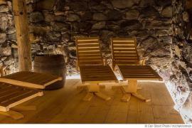 Steinsauna - Heiße Steine, kaltes Wasser