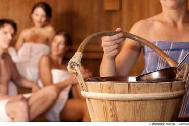 Auch in einer gemischten Sauna gibt es Regeln!