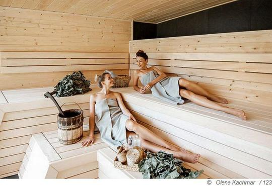 Verhaltensregeln für Saunagänger