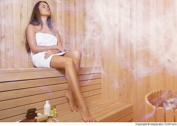 Ein Saunabad ist bei Asthma durchaus geeignet