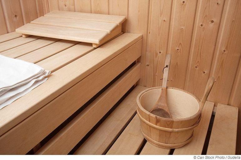 Sauna-Bausatz für Zuhause