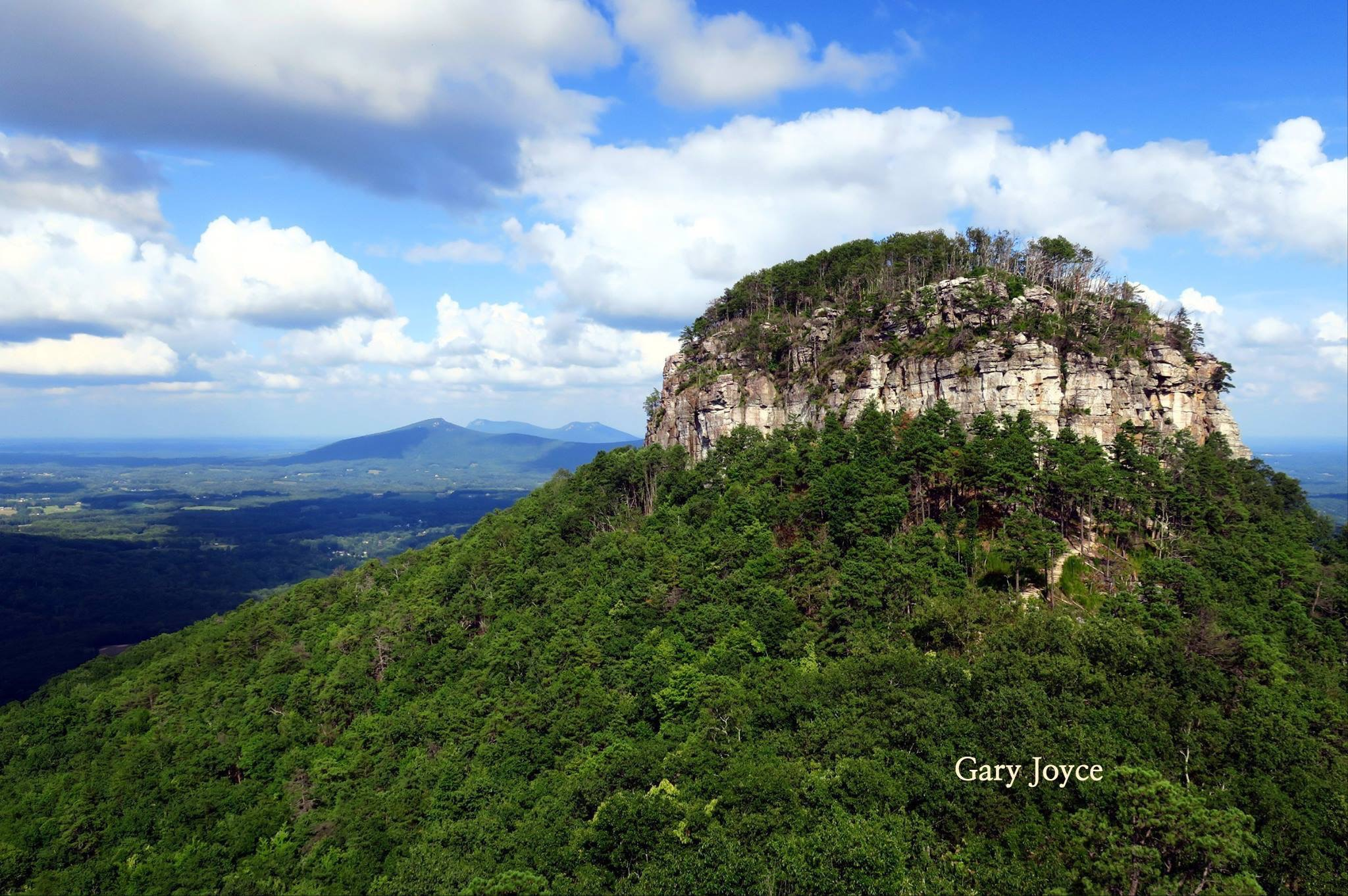 Pilot Mountain. Photo by Gary Joyce.