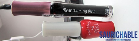 Review: Etude House Fresh Cherry Tint & Dear Darling Tint