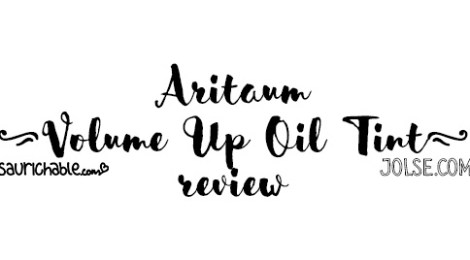 Review: Aritaum Volume Up Oil Tint