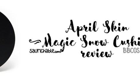 Review (acne skin): April Skin Magic Snow Cushion