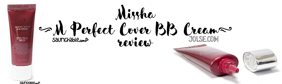 Review (acne skin): Missha M Perfect Cover BB Cream