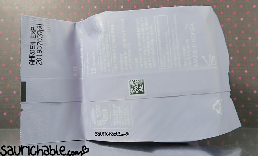 Hera New UV Mist Cushion Long Stay Matt review