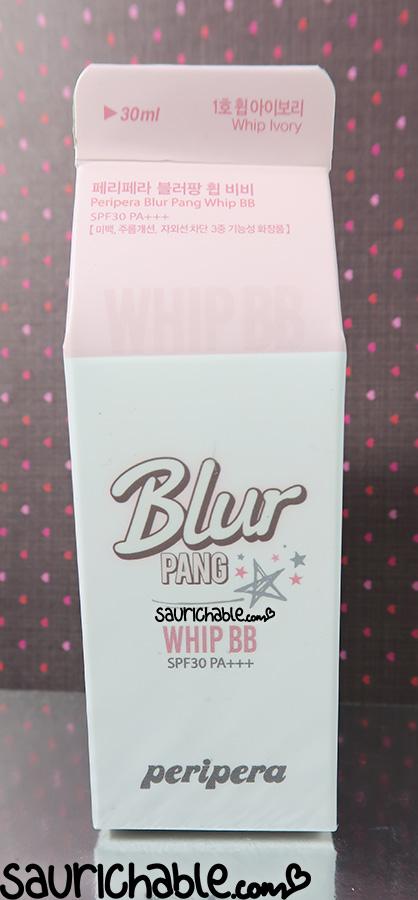 Peripera Blur Pang BB review